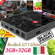 Beelink GT1 Ultimate DDR4 3+32GB TV BOX Octa Core Android 6.0 Dual WIFI 4K LED