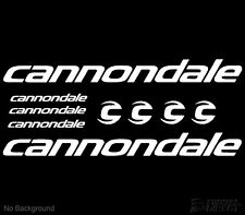 """Cannondale Black Neon Green Bicycling Decal Pack of 50 Car Stickers 4.5/"""""""