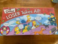 NEW The Simpsons Loser Takes All Game