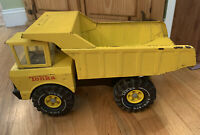 1970's Vintage Tonka Pressed Steel Yellow Dump Truck Classic Collectible 20 Inch