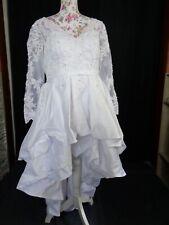 (84)Edles Damen Braut Standesamt Abend Kleid GR: 44