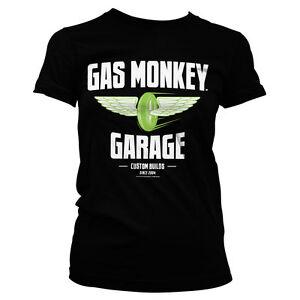 Officially Licensed Gas Monkey Garage - Speed Wheels Women's T-Shirt S-XXL Sizes