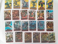 lotto  24 cards originali GORMITI_serie Energheia_by giochi preziosi 2007