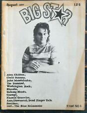 Big Star magazine Issue No. 2 August 1977 Alex Chilton