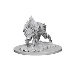 Pathfinder Battles Unpainted Deep Cuts Miniatures Direwolf