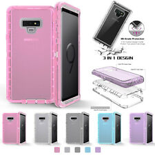 Clear Defender Case For Samsung Galaxy S9 S8Plus S7 Note10 9 8 Transparent Cover