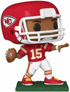 Funko POP: NFL - Chiefs Patrick Mahomes II Red Jersey #148 Figure w/ Protector