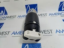 HUBBELL CS8155C INSULGRIP PLUG TWIST LOCK 50A 125/250VAC 3 POLE 4 WIRE NEW