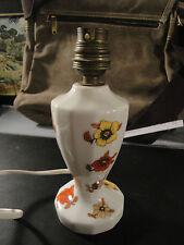Pied de Lampe Electrique porcelaine