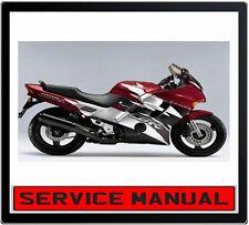 HONDA CBR1000F CBR 1000F BIKE REPAIR SERVICE MANUAL IN DVD