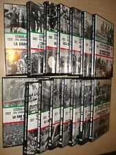 OPERA COMPLETA 15 DVD STORIA DEGLI ITALIANI VITA CRONACA COSTUME SOCIETA'