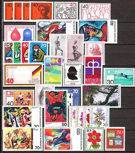 BRD Jahrgang 1974 Postfrisch** Komplett  LUXUS!!!