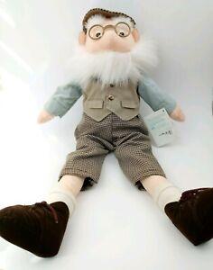 """Vintage Eden Plush 21"""" Old Man Mr. McGregor Beatrix Potter Tale of Peter Rabbit"""