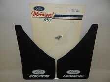 New OEM Ford Motorsport SVO Mudflaps Mud Flaps Splash Guard Pair Front Rear