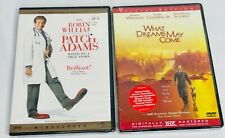 Robin Williams Dvd Movies Patch Adams and What Dreams May Come: Special Edition