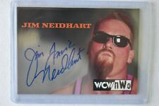 Jim The Anvil Neidhart WCW/NWO Topps Autograph Auto wwe wwf