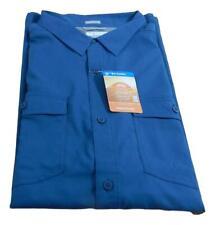 Men's Columbia Short Sleeve Lightweight Quick-Dry Omni Shade Fishing Shirt