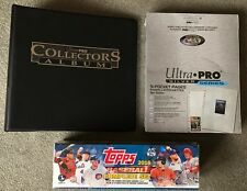 2016 Topps Baseball Series 1&2 Complete Factory Sealed Box Set Album & Pages
