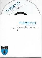 DJ TIESTO - Just be CD SINGLE 2TR Trance Dutch Cardsleeve 2004 (MAGIK MUZIK)
