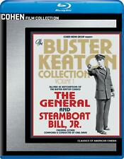 Buster Keaton Collection Vol. 1 - The General/Steamboat Bill, Jr. (Blu-ray) NEW!