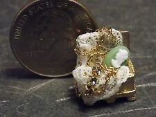 Dollhouse Miniature Jewelry Box Necklace Cameo F 1:12 scale K24 Dollys Gallery