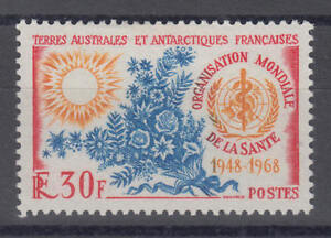 Französische Gebiete in der Antarktis - Michel-Nr. 44 ungebraucht/* (20 J. WHO)
