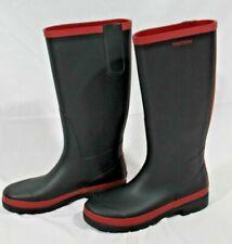 Women's size 9 Tretorn rain boots, navy blue / red - NEW!