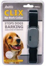 Clix No Bark Dog Collar, Small Uses Sound or Vibration Anti Barking Small