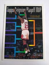 1993-94 Topps Gold Michael Jordan #199 Reigning Playoff MVP - SUPER SHARP