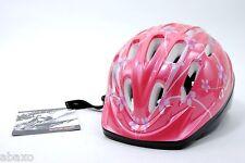 Kid's Bike Cycling Helmet, Pink Flowers, 48cm-52cm