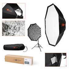Octabox Umbrella Softbox & Grid | 120cm | Bowens Mount Flash | Folding Octobox