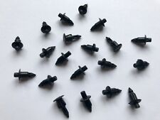 20x plástico remacha negro clip tornillo Honda CBR sc50 sc57 sc59 pc37, etc.