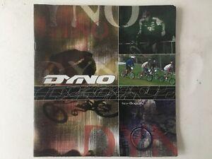 Vintage Original DYNO BMX Bicycle Catalog 2000