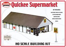 QUICKEE SUPERMARKET ALDI STORE 140pc 265x190mm HO 1/87 scale kit Model Power 621