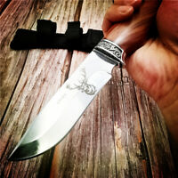 Tactical Knives Fixed Blade Knife Survival Rescue Tools Hunting Camping Titanium