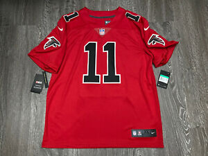 Nike Atlanta Falcons Julio Jones Vapor Jersey Size XL Color Rush 819043-657 Sewn