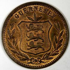 1902 GUERNESEY 8 DOUBLES  - CLASSIC! INV#555