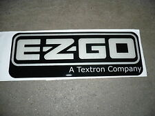NEW OEM EZGO RXV NAMEPLATE / DECAL PART 606405