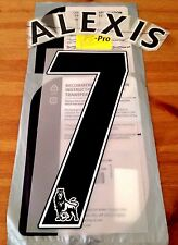 2016-17 Arsenal Away Shirt ALEXIS#7 PS-Pro SportingiD Football Name Number Set