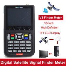1x V8 Finder Digital Satellite Signal Finder HD 1080P Satellite Receiver Meter
