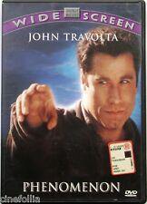Dvd Phenomenon - ed. Widescreen Siae rosa con John Travolta 1996 Usato