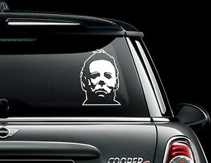 michael myers CAR VAN WINDOW DECAL STICKER HORROR BUMPER BMW LAPTOP halloween