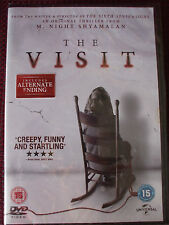 The Visit DVD.M. Night Shyamalan.BRAND NEW AND SEALED.Regions 2 ,4 & 5