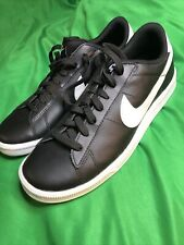 New listing Men's Nike Tennis Classic CS Casual Shoes Black Sz 10 683613 010