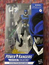 Power Rangers Lightning Collection in Space Psycho Blue Ranger...