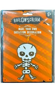 Make Your Own Spooky Skeleton - Crafts for Kids - Party Treats - Halloween