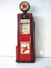 Tanksäule Zapfsäule Gasoline Höhe155cm Dekoration  Globe ist eine Uhr  Nr.22