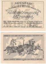 Germany / Poland 25 Pfennig 1921 Notgeld Neurode AU-UNC Banknote