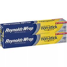 Reynolds Wrap Non-Stick Aluminum Foil, 130 sq. ft. (2 pk)