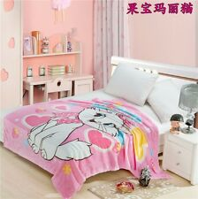 Marie Cat Blanket Bedding Soft Warm Throw Flannel Rug Smooth 150*200CM Gifts
